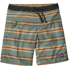 Patagonia Wavefarer Pantalones cortos Hombre, tarkine stripe: tasmanian teal